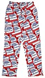 Budweiser Beer Knit Graphic Sleep Lounge Pants (XX-Large)