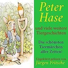 Peter Hase - und viele weitere Tiergeschichten: Die schönsten Tiermärchen aller Zeiten! Hörbuch von div. Gesprochen von: Jürgen Fritsche