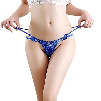 374926738215 Levifun Bragas Mujer Algodón Sexy Encaje sin costurasde Cintura Alta ...
