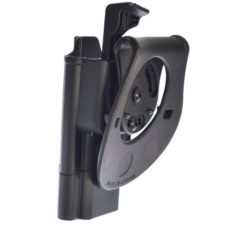 ORPAZ Defense Taktisch verstellbar drehbar drehung Paddle Pistole Holster Active Retention Mit Thumb Release Sicherheit Colt S/&W Kimber Ruger and more Taurus Sig G/ürteladapter f/ür Alle 1911 mit oder ohne Picatinny Rail