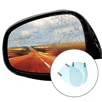 Car rain mirror protective film anti fog membrane anti-glare waterproof J/_WK