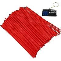 STONEDER Cubiertas de pieles de radios rojos Cubiertas