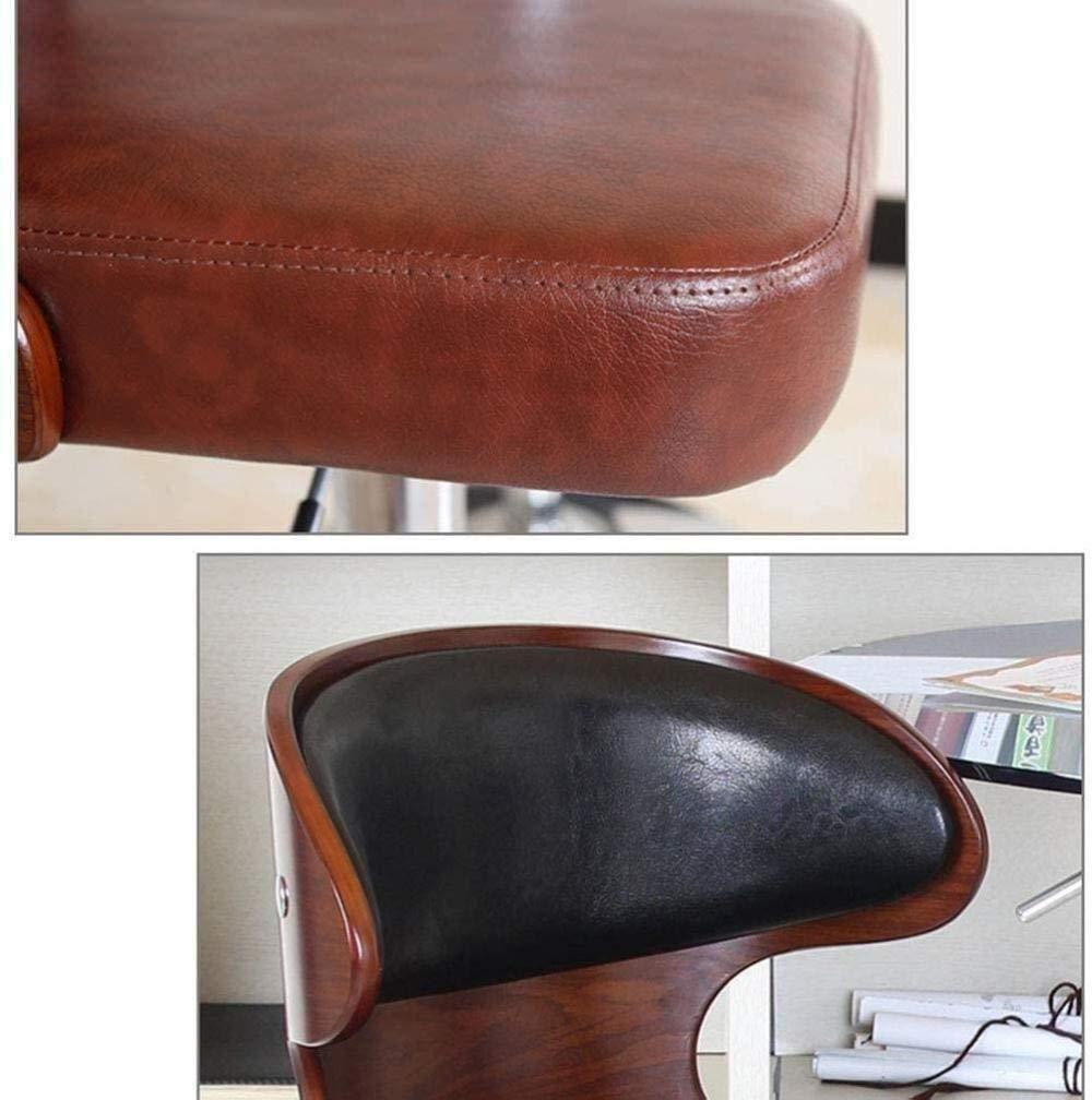 Skrivbordsstolar, kontorsstol roterande stol spelstol arbetsrum skrivbord stol lyft svängbar datorstol fåtölj (färg: Grön) Brun