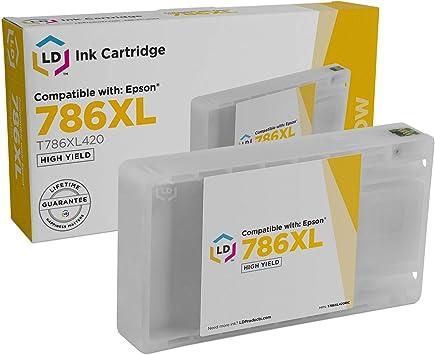 Amazon.com: LD© Remanufactured Epson 786 x l Cartuchos de ...
