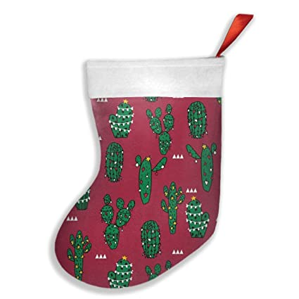new christmas cactus xmas christmas stockings xmas party mantel decorations ornaments for decoration kids gift holding