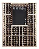 Wine Rack Table Top Bar Surface (Redwood with Dark Stain)