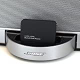 LAYEN i-SYNC - Bluetooth Audio Adapter Receiver For Dock / Stereo - Stream Music Wirelessly From Your Bluetooth Device; iPod, iPhone, iPad, Tablet, MP3, Laptop to Dock / Stereo (Not Suitable For Cars)