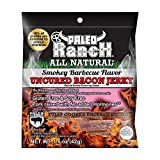 PALEO RANCH, Uncured Bacon Jerky; Smokey Barbecue - Pack of 12