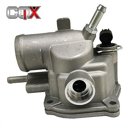 CQX Caja termostato Junta + Cubierta + Sensor, Mercedes-Benz W210 ...
