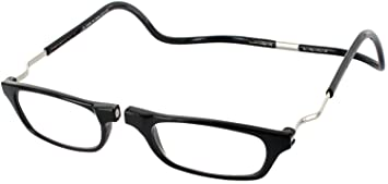 e17855ebaf08 Image Unavailable. Image not available for. Color  CliC Reader XXL Single  Vision Half Frame Designer Reading Glasses ...