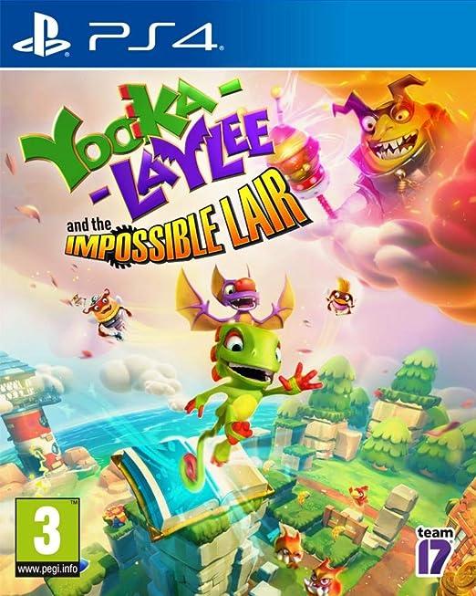 Yooka-Laylee: The Impossible Lair PS4 Game: Amazon.es: Videojuegos