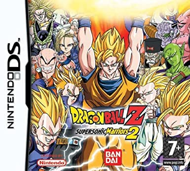 dragonball z supersonic warriors 2 nintendo ds