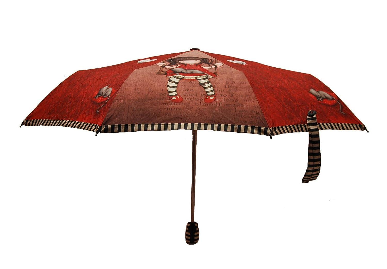 Gorjuss - Paraguas Plegable Manual Ruby (Santoro 76-0001-10): Amazon.es: Juguetes y juegos