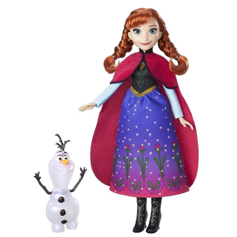 Amazon.es: NEW Disney B9200 Frozen Northern Lights Doll Anna and Olaf Figure: Juguetes y juegos