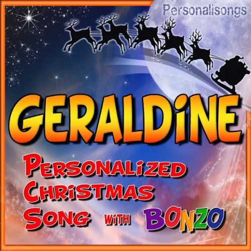 Geraldine Personalized Christmas Song With Bonzo Christmas Song Geraldine