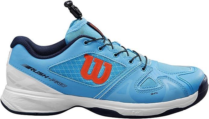 Wilson Rush Pro Jr Ql, Zapatillas de Tenis, para Todo Tipo de ...