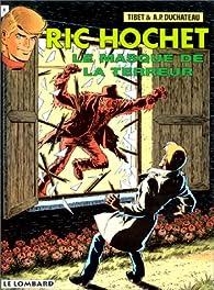 Ric Hochet, tome 54 : Le Masque de la terreur par  Tibet
