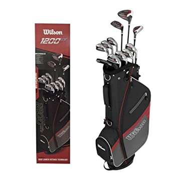 Juego de palos de golf de grafito, para hombre, Wilson 1200 ...