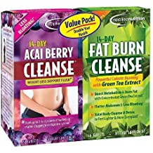 Applied Nutrition 14-Day Acai Berry Cleanse + 14-Day Fat Burn Cleanse, Value Pack, Tablets--56 ea-Product ID DRU-216882_1 by Applied Nutrition