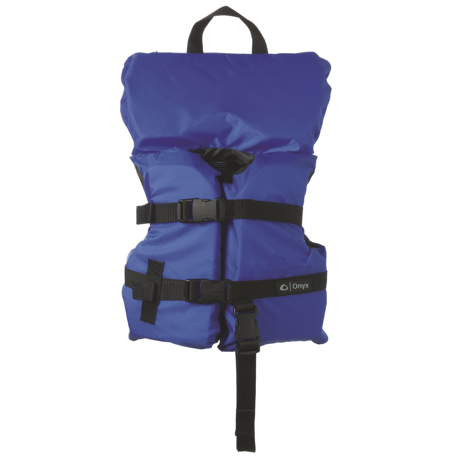 Full Throttle 3600-0132 Marine General Purpose Infant Life Vest with Quick Recovery Strap, Blue and Black Finish