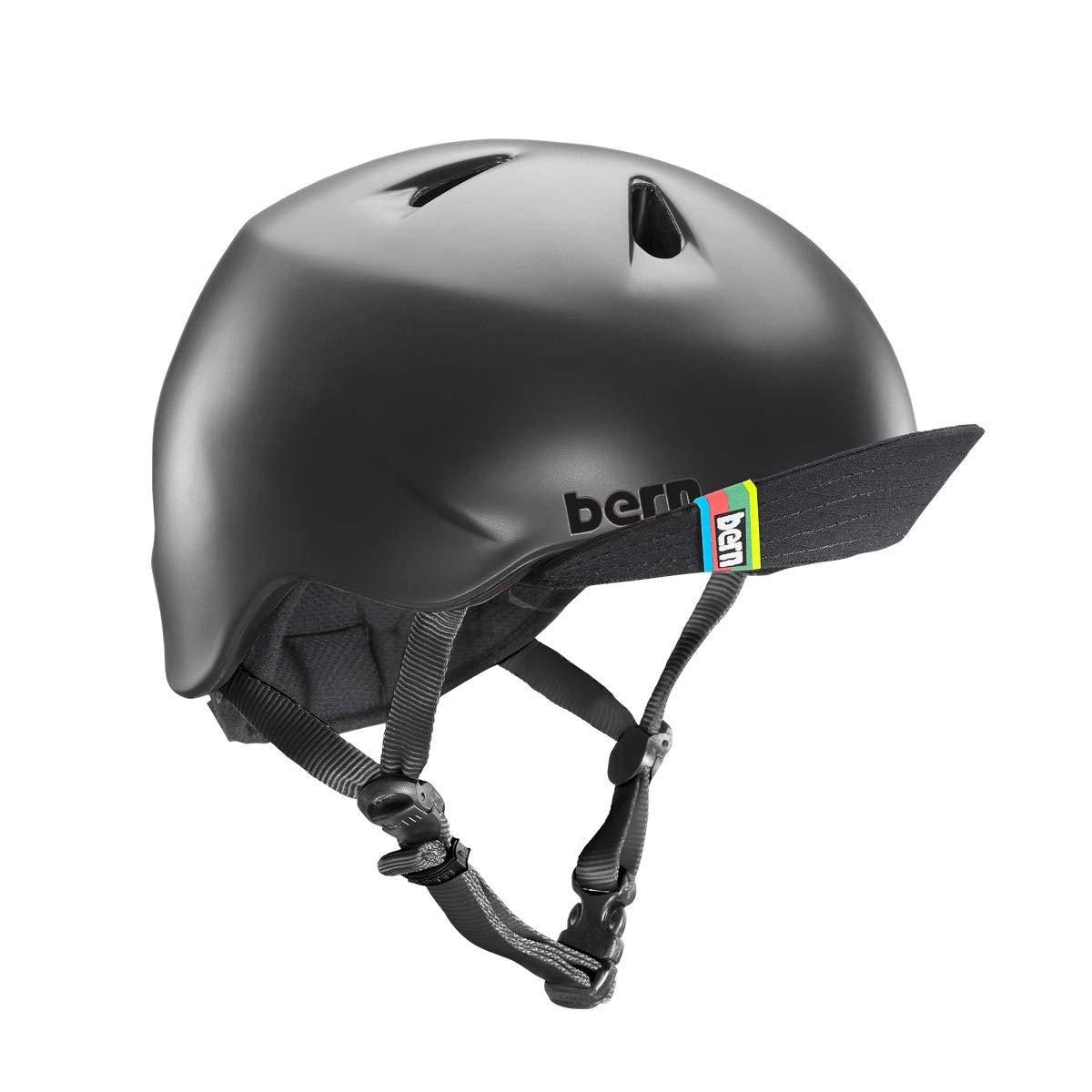 Bern Unlimited Jr. Nino Summer Bike Skate Sport Helmet with Visor