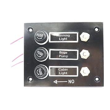 Homyl Panel de Interruptores con Etiqueta Adhesiva con Tornillos de Montaje Plástico: Amazon.es: Deportes y aire libre