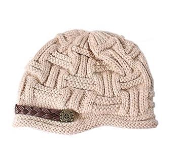 1bab02d628f505 Butterme Mode Damen Winter Wärmer Strickmütze Mütze Wintermütze Ballonmütze Beanie  Slouch Hut