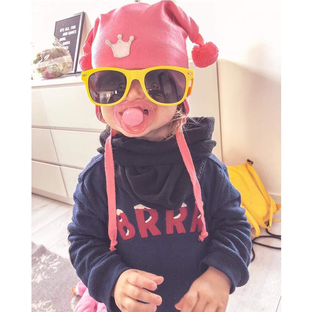 10Black Onnea 10 Pieces Sunglasses for Kids Party Favor Supplies Neon Colors Wholesale,One Size for Kids Only