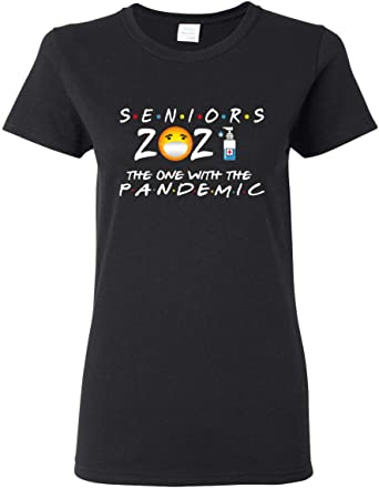 Seniors 2021 The One Where They were Quarantined Pop Culture Unisex Crewneck Graphic Sweatshirt