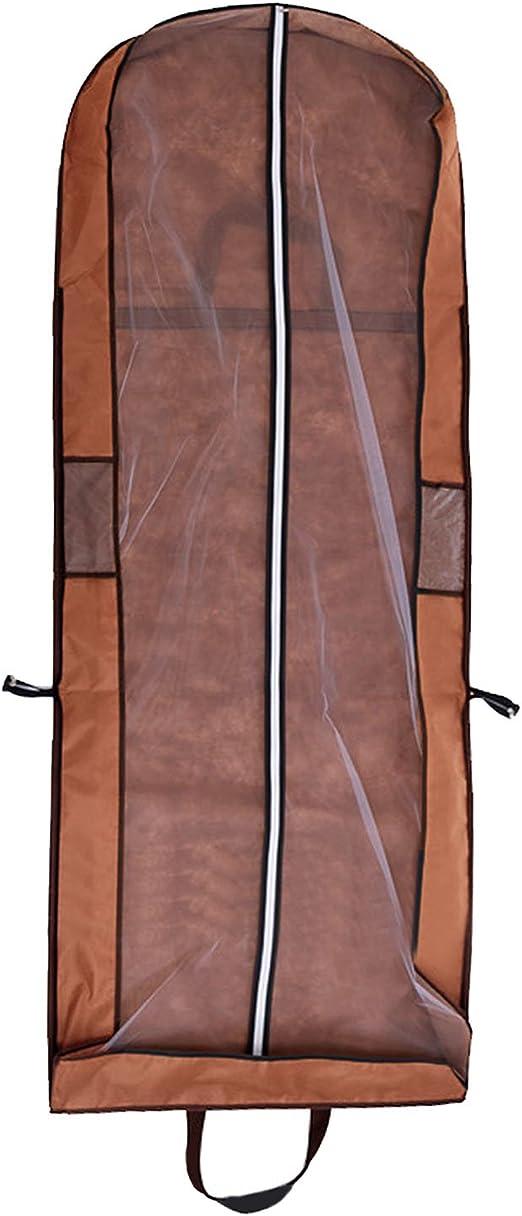 Cubierta de Ropa, Transpirable Bolsa de Trajes Larga para Vestidos ...