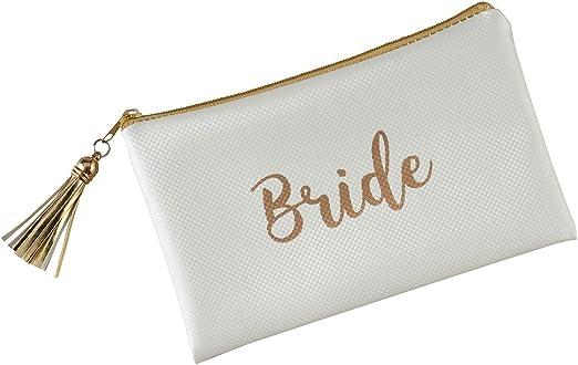 Wedding Emergency Survival Bag Bridesmaid Bride Maid Of Honor Gold