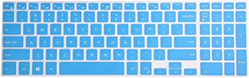 Keyboard Cover for Dell Inspiron 15 3000 5000 7000 Series Gradual Pink Leze 15.6 Dell G3 G5 G7 Inspiron 17 5000 Series 17.3 Dell G3 Series Laptop