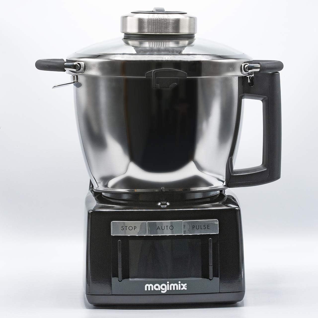 Magimix 18903 - Robot de cocina (Negro, Acero inoxidable, Acero inoxidable): Amazon.es: Hogar