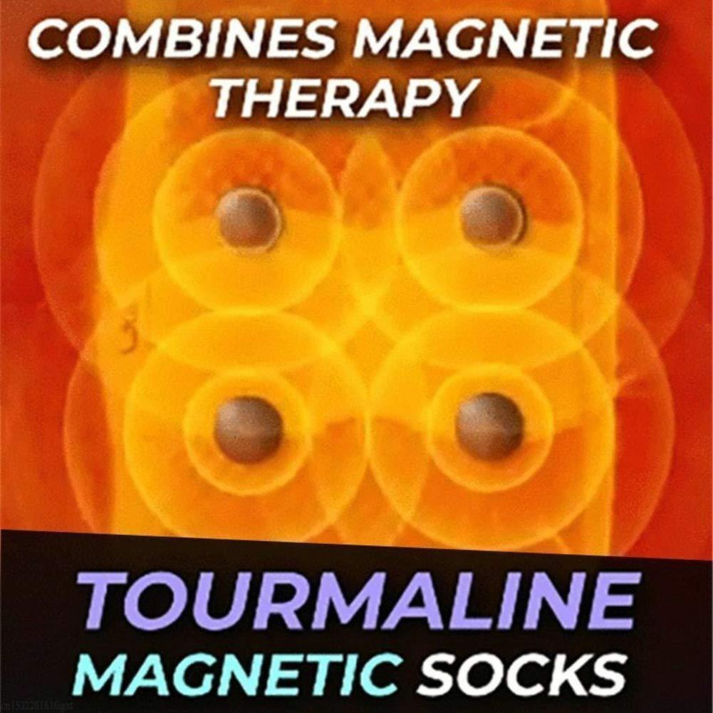 per Massaggi Traspiranti alla Terapia Magnetica Massaggi e Relax Calzini Magnetici YIYIBO Calze autoriscaldanti Nero Calzini Riscaldati