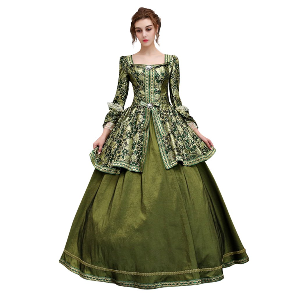 Masquerade Ball Clothing: Masks, Gowns, Tuxedos 1791s lady Womens 18 Century Victorian Day Dress $155.50 AT vintagedancer.com