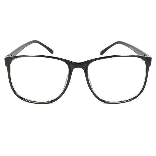 Amazon.com: MLC EYEWEAR ® Panto Oversized Thin Frame Nerd Fashion ...