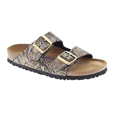 Unisex Arizona Persian Brown Textile Sandals - 6-6.5 2A(N) US Women