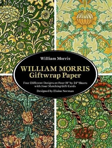 William Morris Giftwrap Paper (Dover Giftwrap)