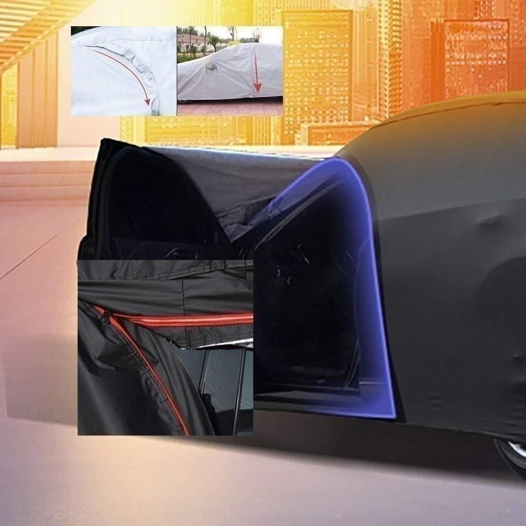 Fundas y Cubiertas para Coche Compatible con la Cubierta del Coche Citroen C4 Picasso 4 Colores Bayer Material de Primera Calidad for Todo Clima de protecci/ón Color : Black