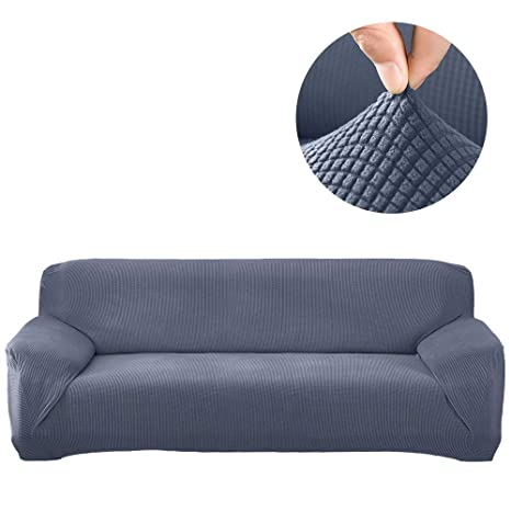 Stretch Sofa Cover Sectional Protector 1 Pcs Diy Buy Two For L Shape Sofa Couch Soft Polyester Fabric Slipcovers Form Fit Furniture Slipcover