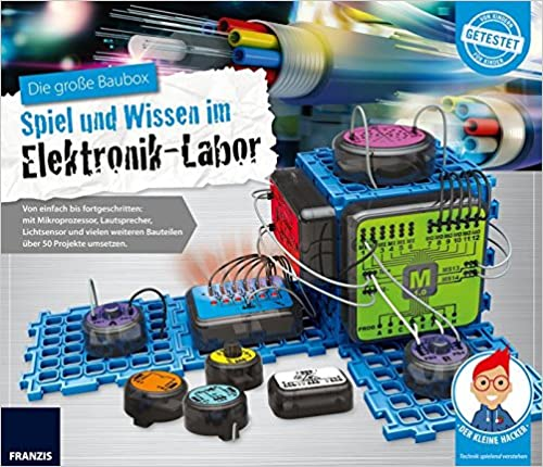 FRANZIS young Explorer Die Die Die große Baubox  Spiel und Wissen im Elektronik-Labor   Ab 8 Jahren a1b49b