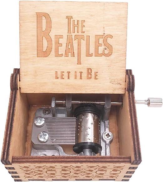 Youtang The Beatles Caja de música manivela de Mano Caja Musical ...