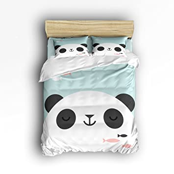 Amazon.com: T & H Home oso Headshot para cama de niños Juego ...