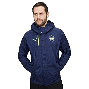 arsenal rain jacket puma