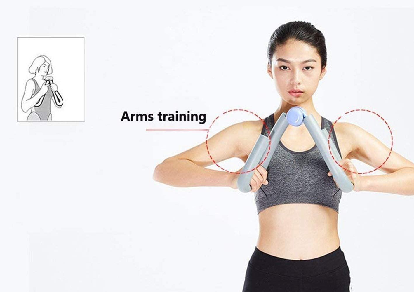 Boomersun Oberschenkeltrainer Fitness Workout Muskel Beintrainer Ger/ät schlank Massage Abnehm-Training f/ür Outdoor Zuhause Familie Heimstudio Yoga Sport