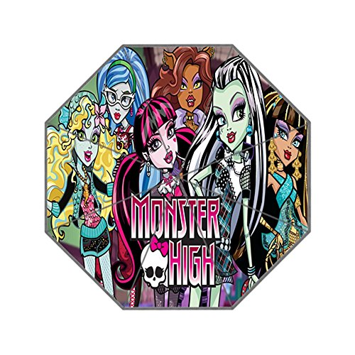 Monster Custom High (ScottShop MONSTER HIGH Custom Generic Foldable Umbrella Sun Rain)