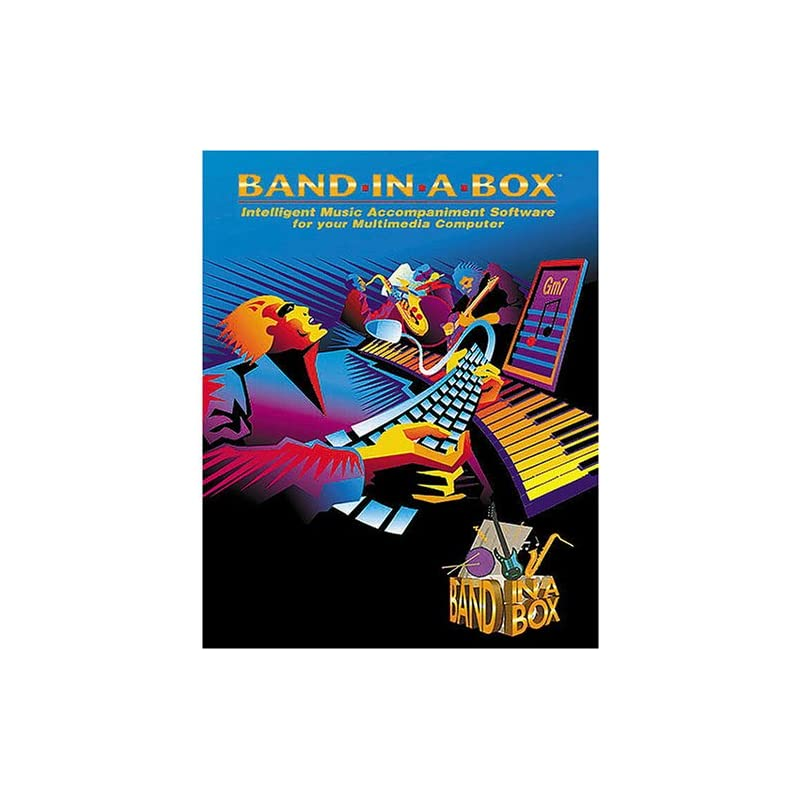 Band-in-a-Box 2002 Pro [Old Version, Win