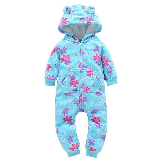 JiaMeng Reci¨¦n Nacido Pijama Beb¨¦s Algod¨n Mameluco Ni