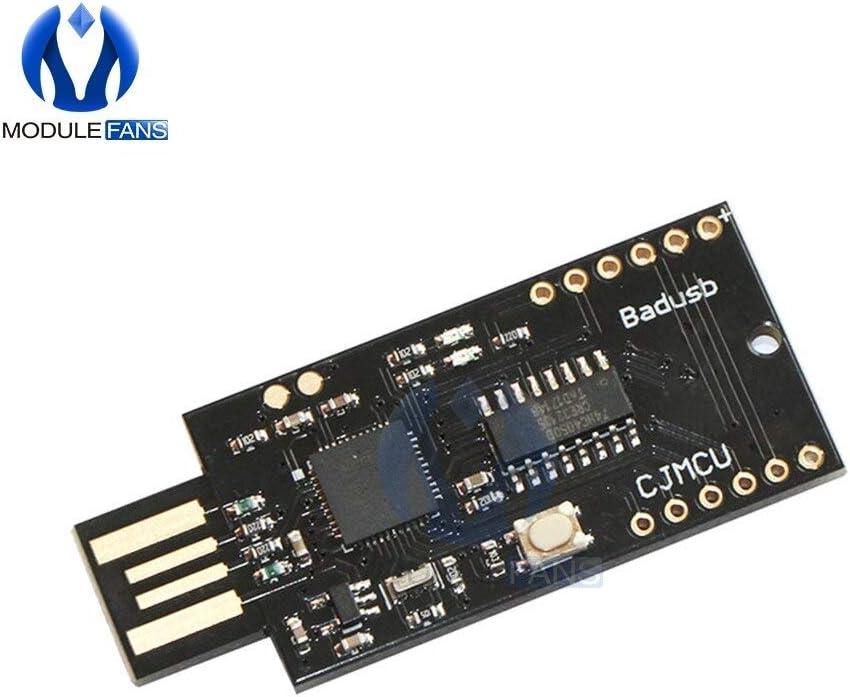 Carvicto ATMEGA32U4 ESP8266 ESP12 ESP-12E ESP12E Badusb TF Micro SD Virtual Keyboard Development Board for Module
