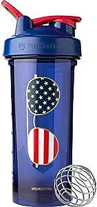 BlenderBottle Patriotic Pro Series Shaker Bottle, 28-Ounce, USA Sunglasses
